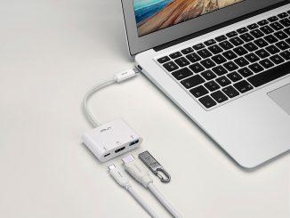 PNY USB-C 3.1 Display Adapter an Macbook