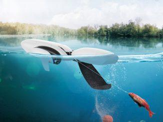 Die PowerDolphin-Drohen hilft beim Angeln