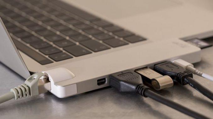 USB-C Dock für Macbook Pro