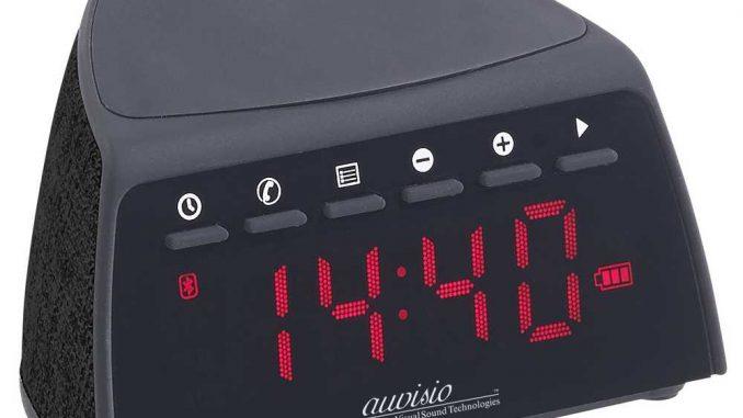 Auvisio Radiowecker und Qi-Ladegerät