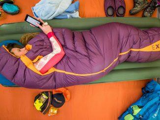Daunenschlafsack für Frauen