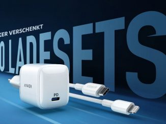 Anker verschenkt iPhone-Ladesets