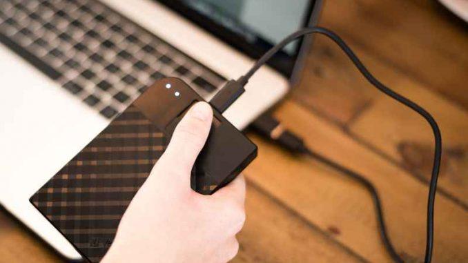 Fingerprint Secure Festplatte