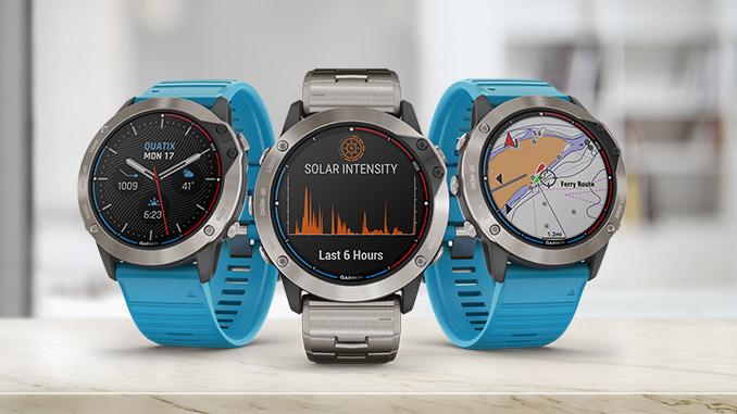 Garmin Quatix 6X Solar Smart Watch mit Solarmodul