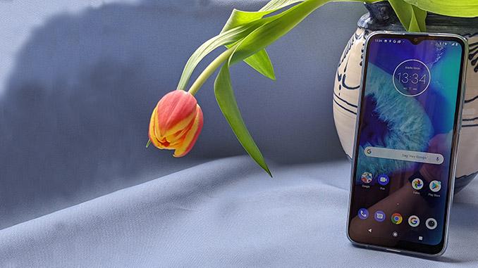 Test Moto G8 Power Lite
