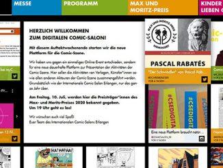 Digitaler Comic Salon Erlangen