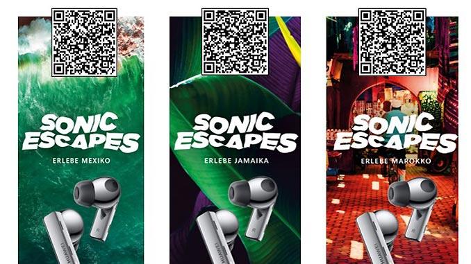 Sonic Escapes für Huawei FreeBuds-Besitzer