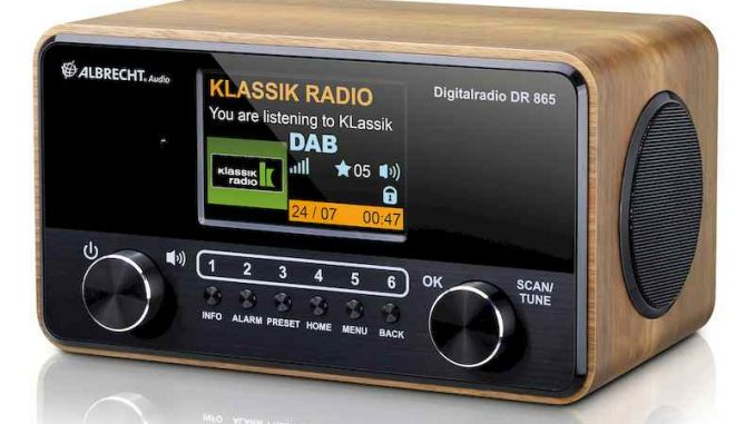 Albrecht DR 865 Senioren Digitalradio