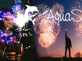 Corona Feuerwerk mit AquaSoft