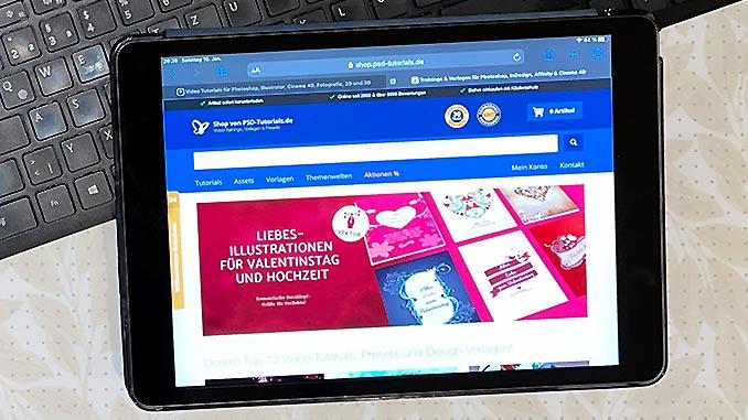 PSD Tutorials: Aktionen für Photoshop & mehr
