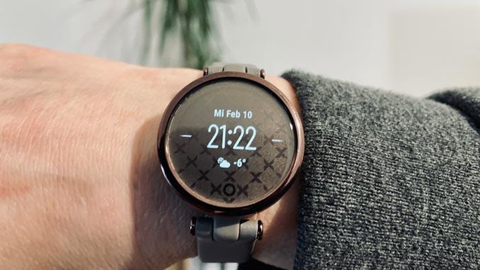 Garmini Lily Smartwatch für Damen Test