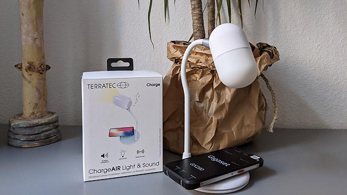 ChargeAIR Light & Sound Lampe von Terratec Test
