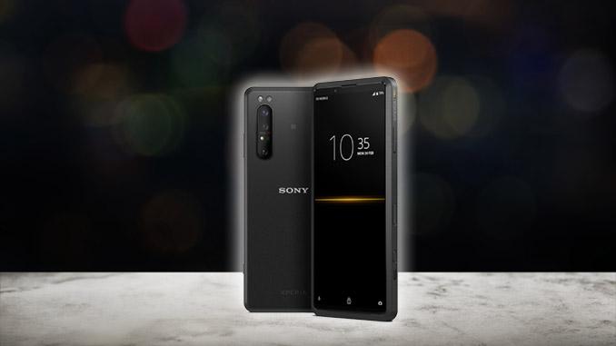 HDMI Smartphone Sony Xperia Pro