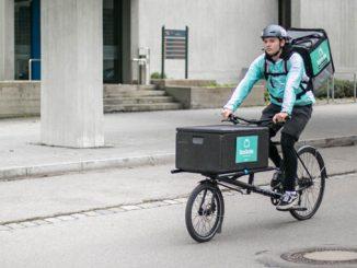 Boxbote neuer Fahrrad Lieferdienst für Nürnberg