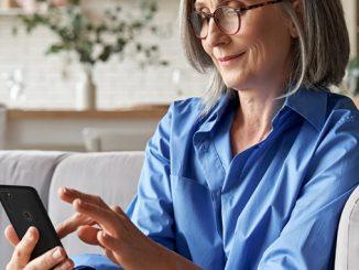 GS4 senior Senioren Smartphone von Gigaset