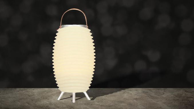 Lautsprecher-Lampe